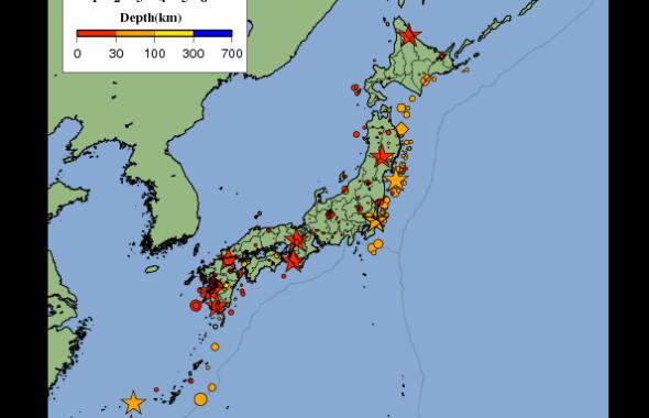 気象庁地震活動