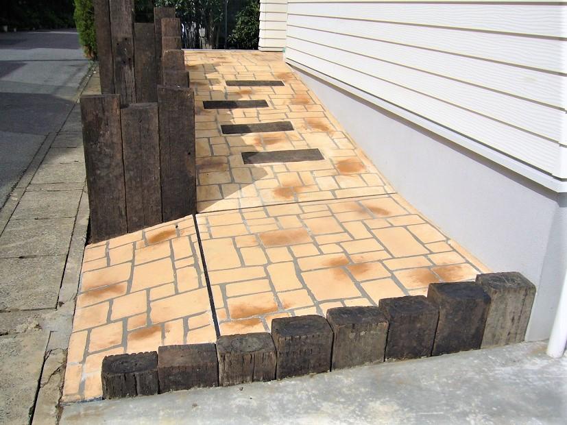 スロープデザインコンクリート