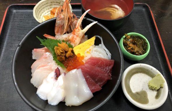 大洗の海鮮丼