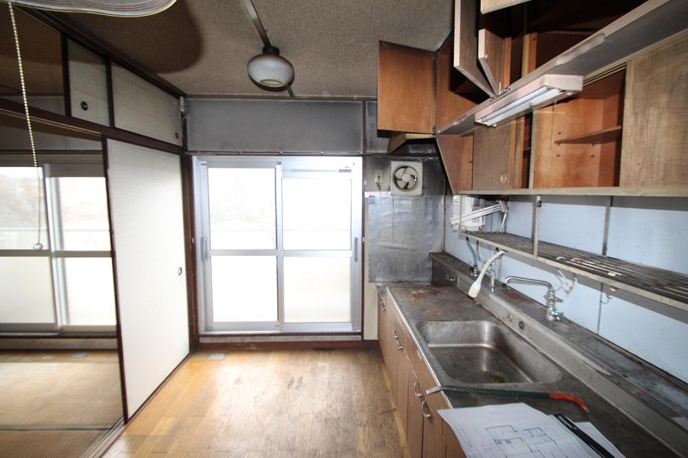 村上団地キッチン