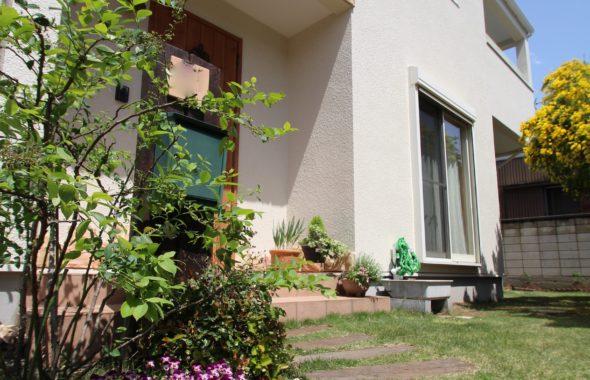 外壁多彩色塗り