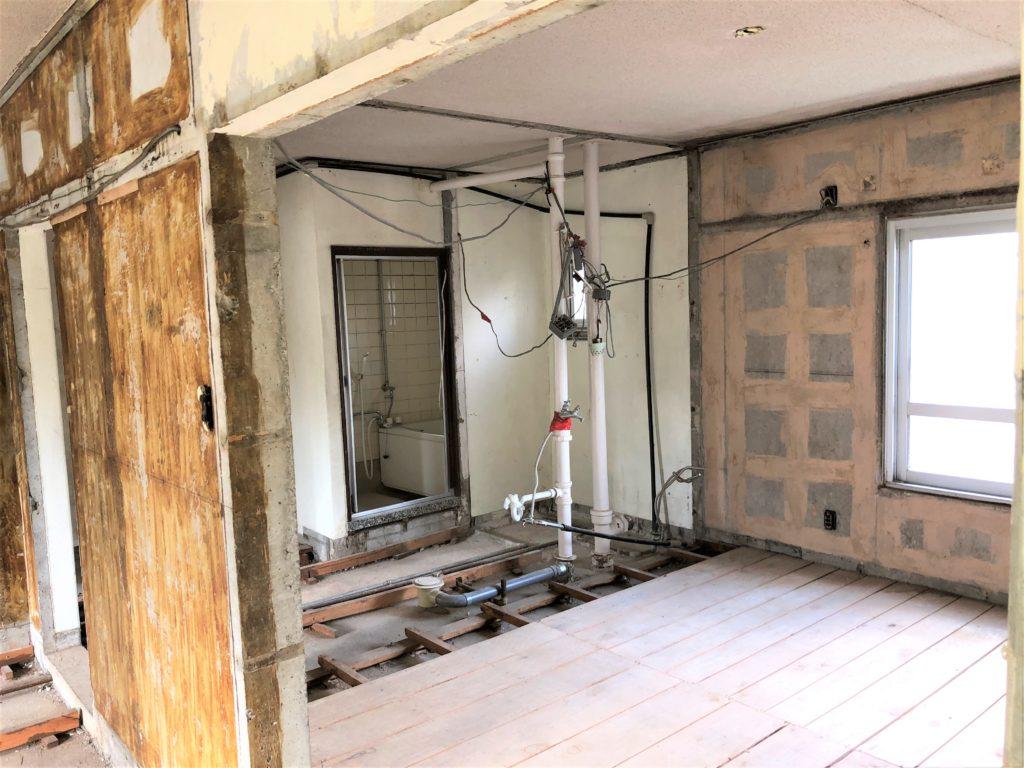 高津団地洗面、トイレ